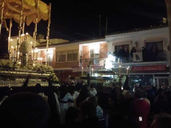 procesion viernes santo en Herencia3 560x420 - Estación de Penitencia de la Cofradía del Santo Entierro