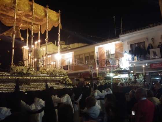 procesion viernes santo en Herencia4 560x420 - Estación de Penitencia de la Cofradía del Santo Entierro