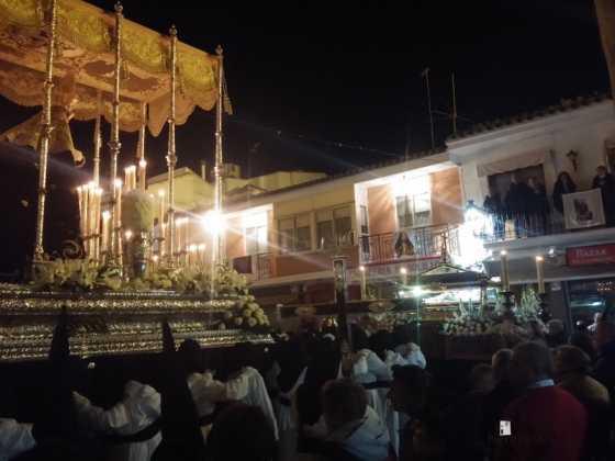 procesion viernes santo en Herencia5 560x420 - Estación de Penitencia de la Cofradía del Santo Entierro