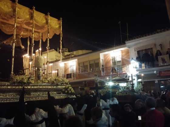 procesion viernes santo en Herencia6 560x420 - Estación de Penitencia de la Cofradía del Santo Entierro