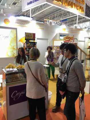 productos carpu en alimentaria 315x420 - El presidente regional visita a las empresas de Herencia en Alimentaria 2016