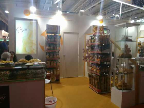 productos carpu en alimentaria1 560x420 - Quesos Gómez Moreno y Productos Carpu en Alimentaria 2016