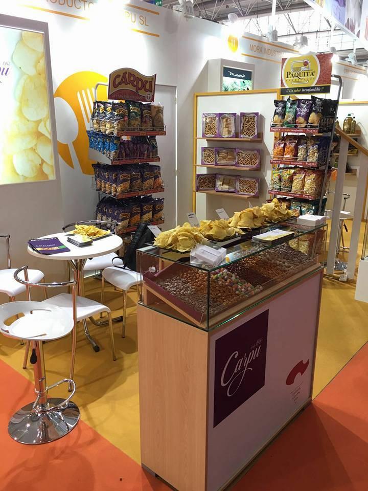 productos carpu en alimentaria2 - Quesos Gómez Moreno y Productos Carpu en Alimentaria 2016