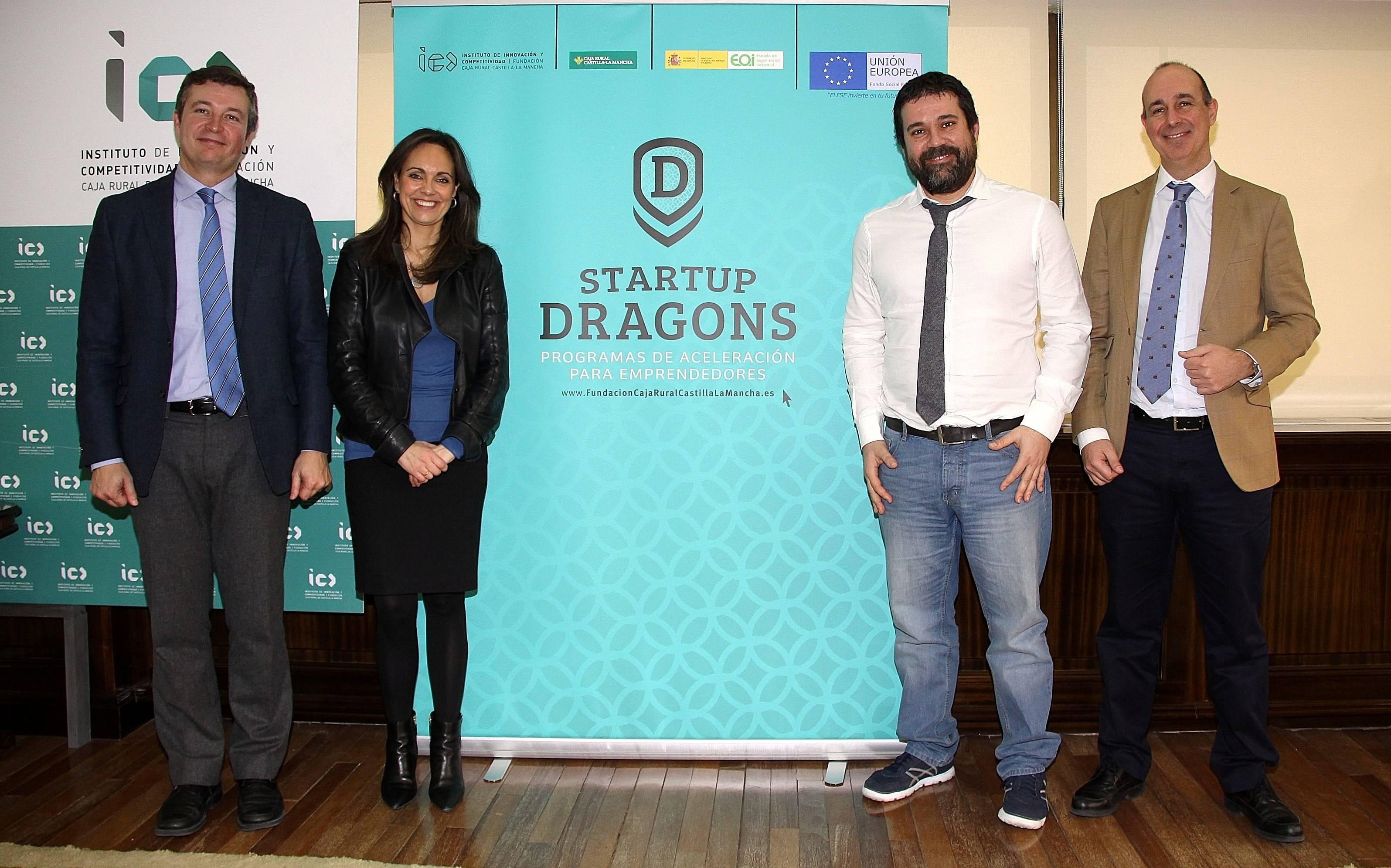 startup dragons - La Fundación Caja Rural Castilla-La Mancha busca emprendedores con alma de dragón