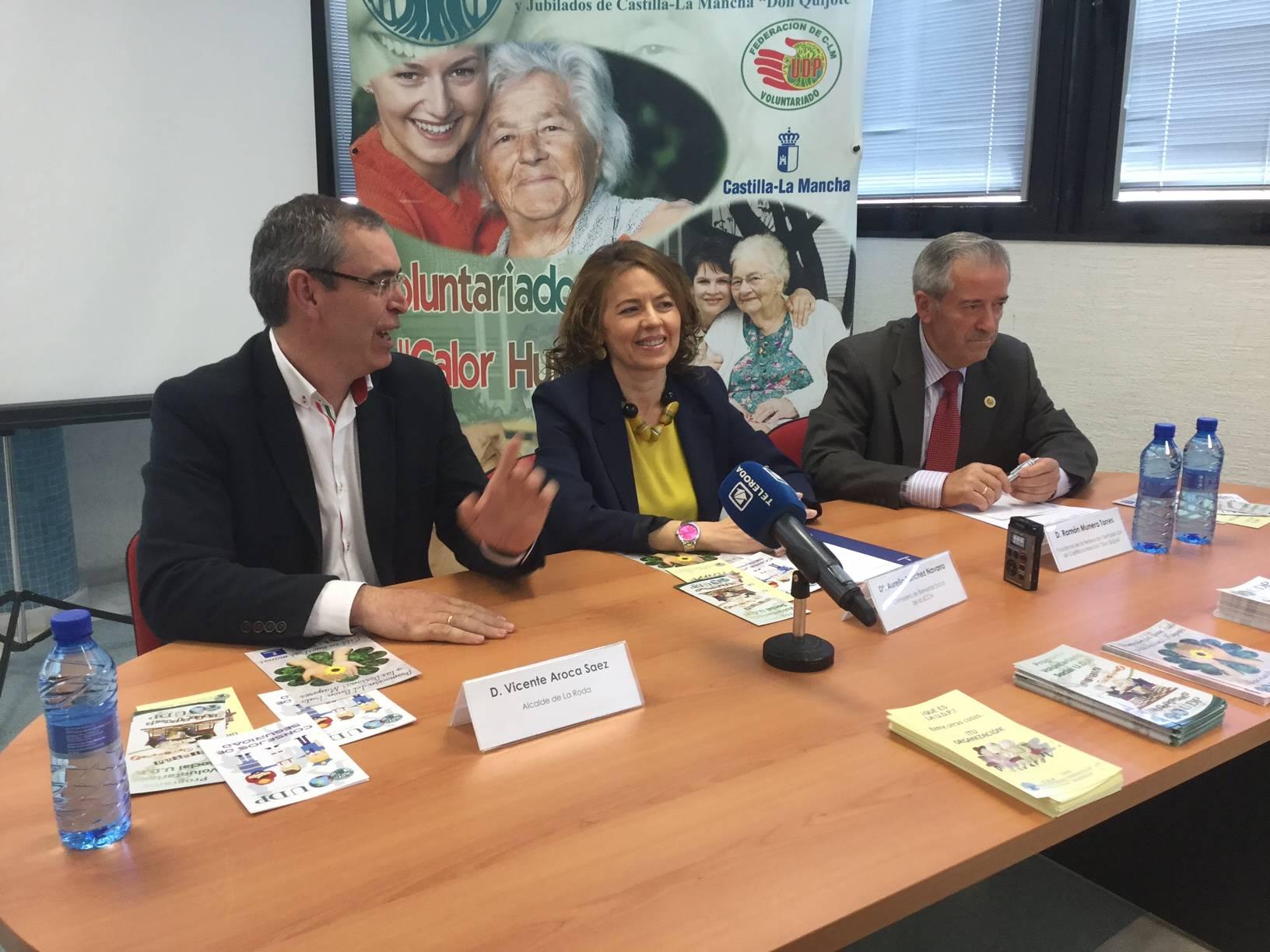 Aurelia Sanchez clausura el Curso para la promocion del buen trato con las personas mayores