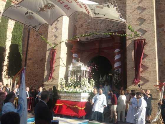 Procesión del Corpus Christi en Herencia