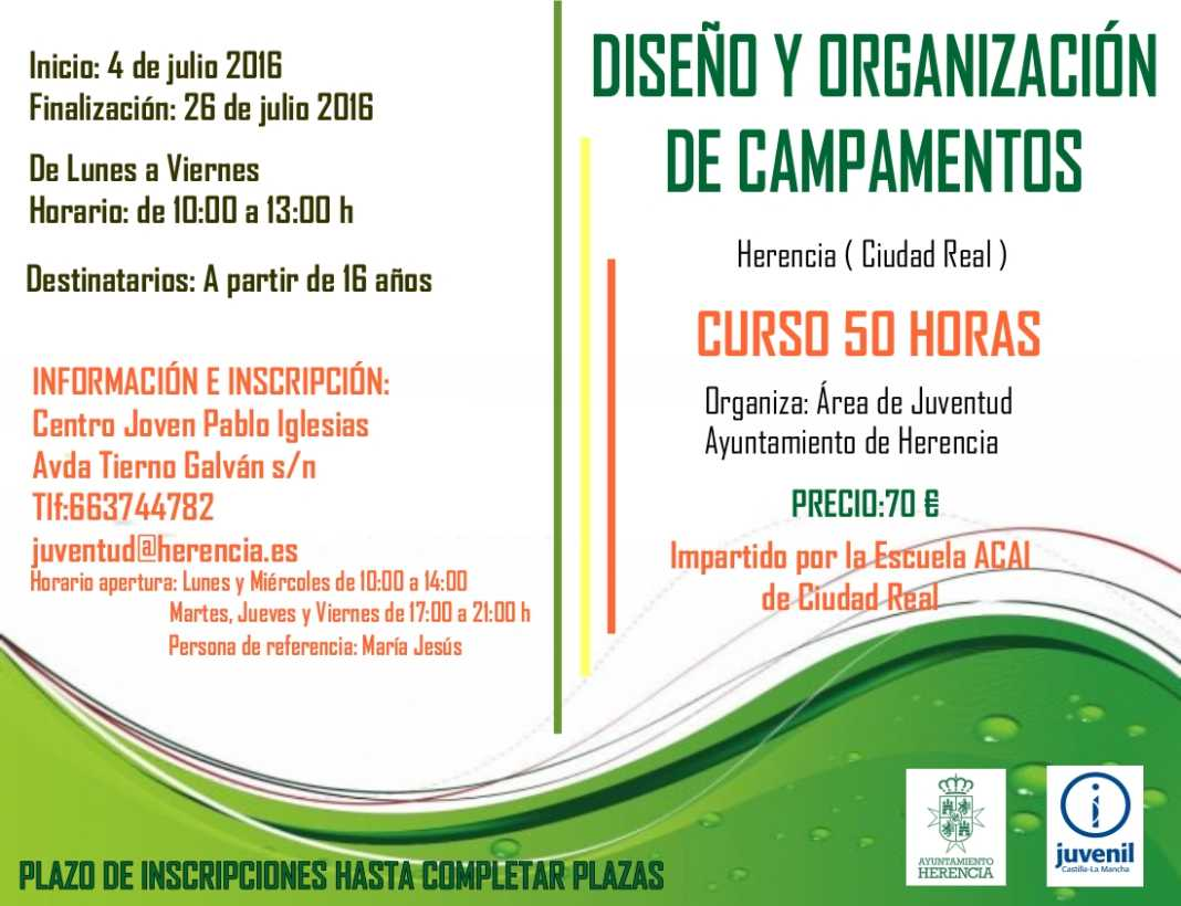 Curso de Diseño y Organización de Campamentos 1