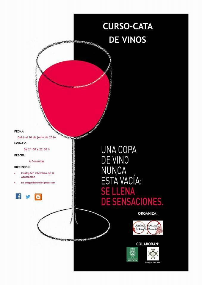 IV curso de cata de vino de Herencia - La asociación Amigos del Vino organiza su IV curso de cata de vinos