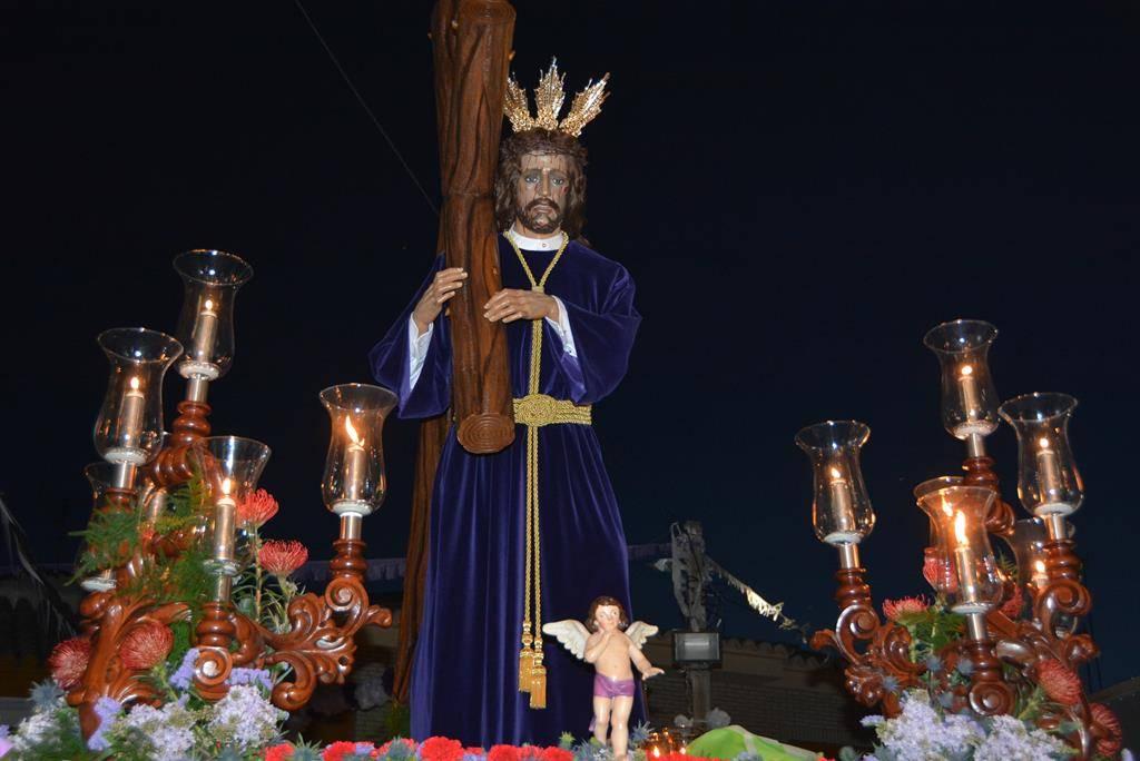 Jesus Nazareno de Herencia en su salida extraordinaria