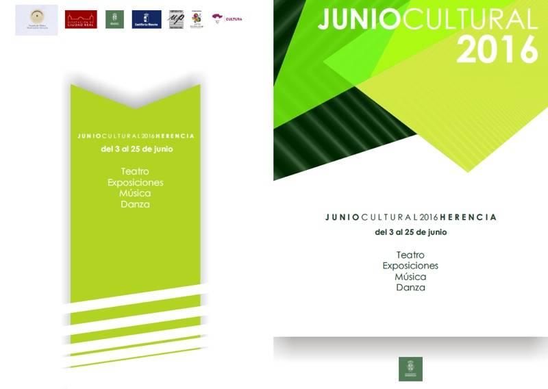 Programacion junio cultural en Herencia