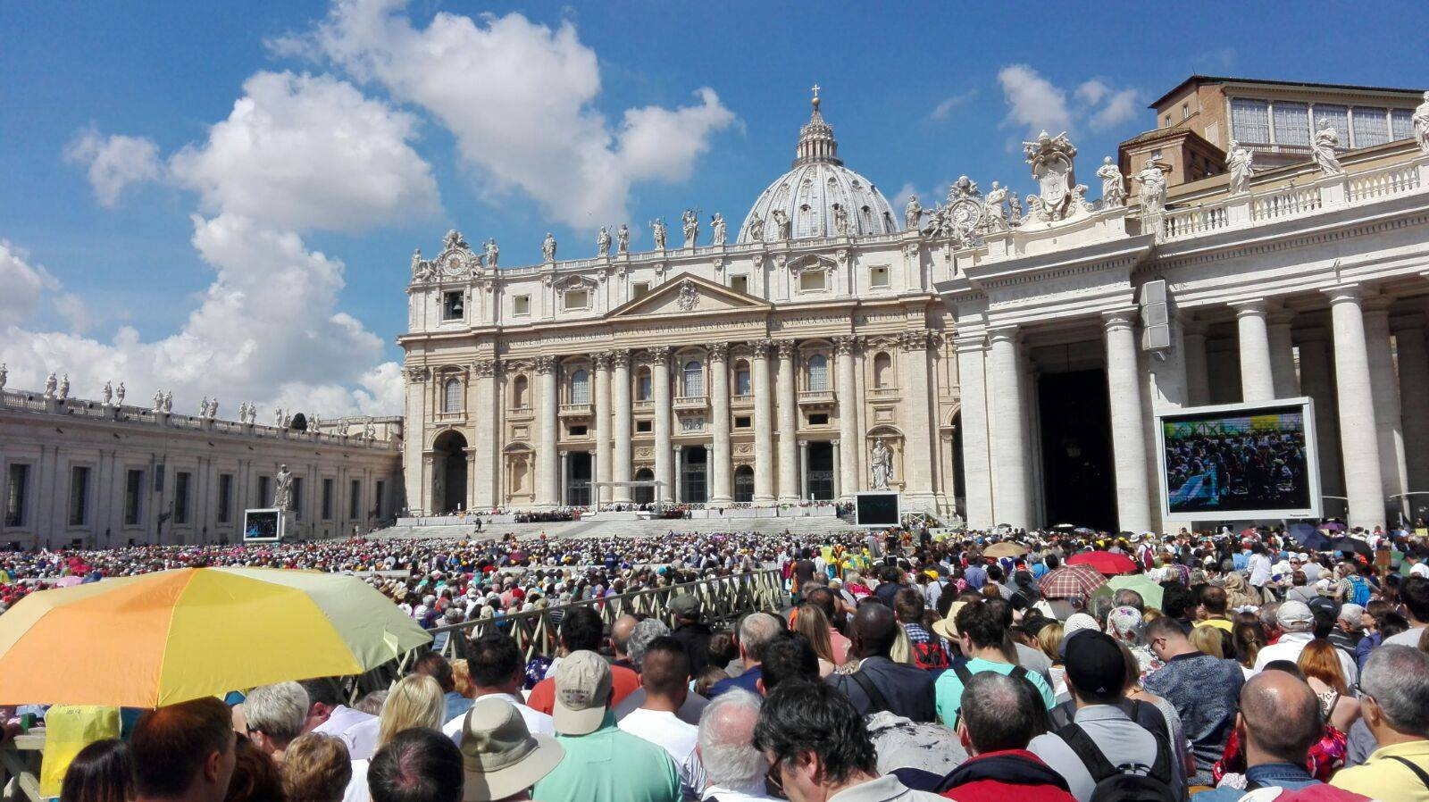 Viaje fin de curso colegio mercedario de herencia a Roma 2016