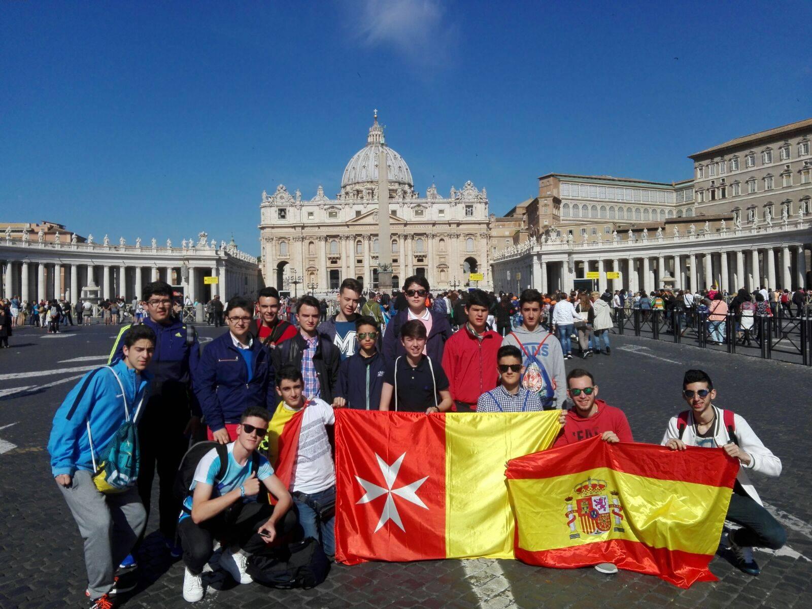 Viaje fin de curso colegio mercedario de herencia a Roma 2016_a