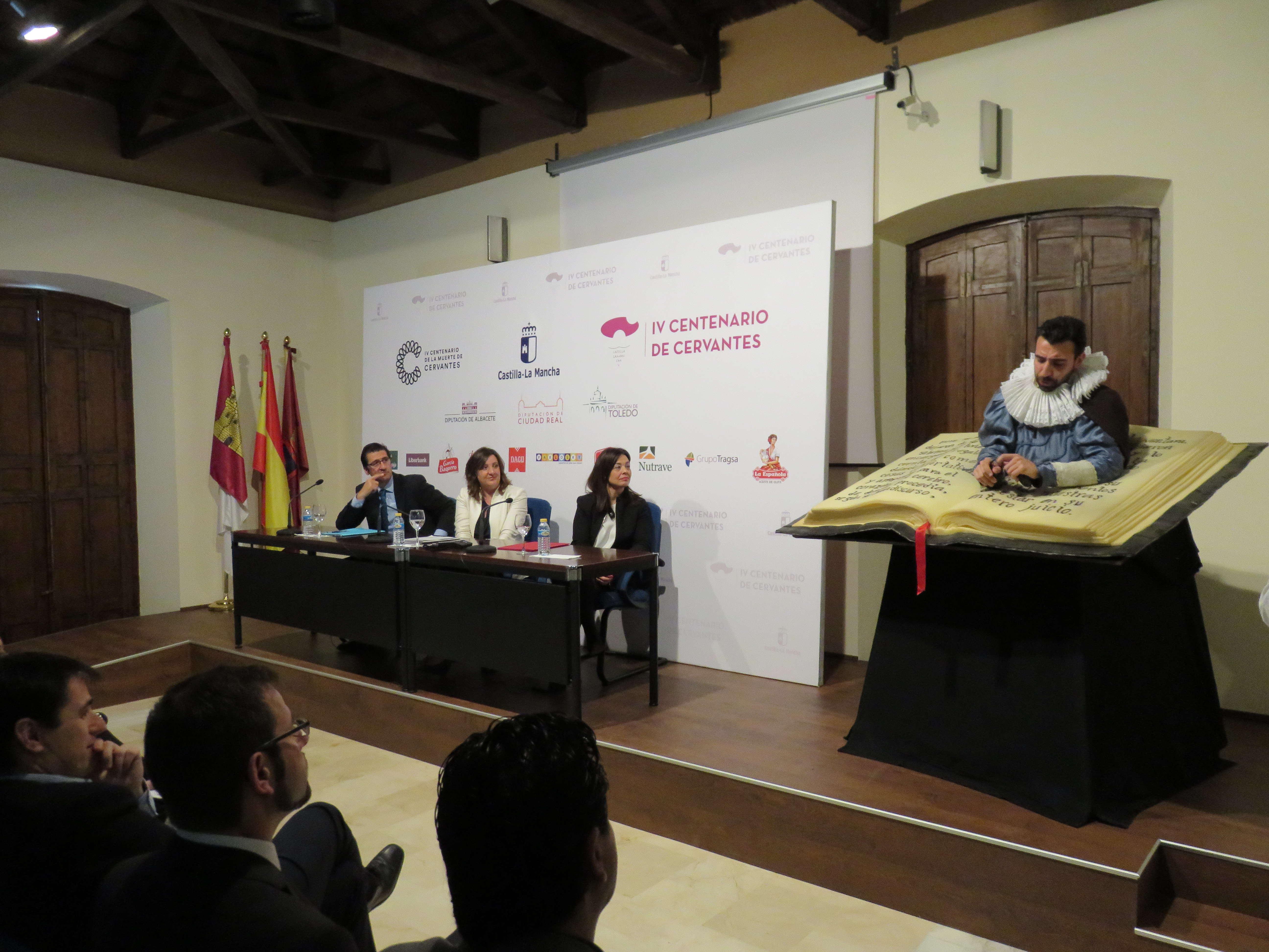 acto de presentacion acciones quijote ciudad real - Nuevas señales cervantinas para Herencia y otras 8 localidades ciudadrealeñas