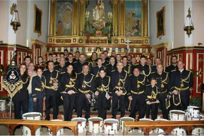 banda de cornetas y tambores siete pasos - 15 años de la Banda de Cornetas y Tambores Siete Pasos