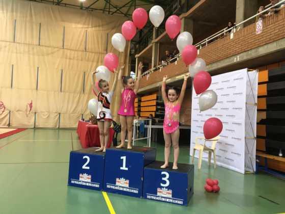 Cuatro medallas en Campeonatos Regionales de Gimnasia Rítmica 3