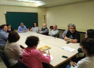 Constitucion de la comision local para organizar las fiestas de La Merced de Herencia