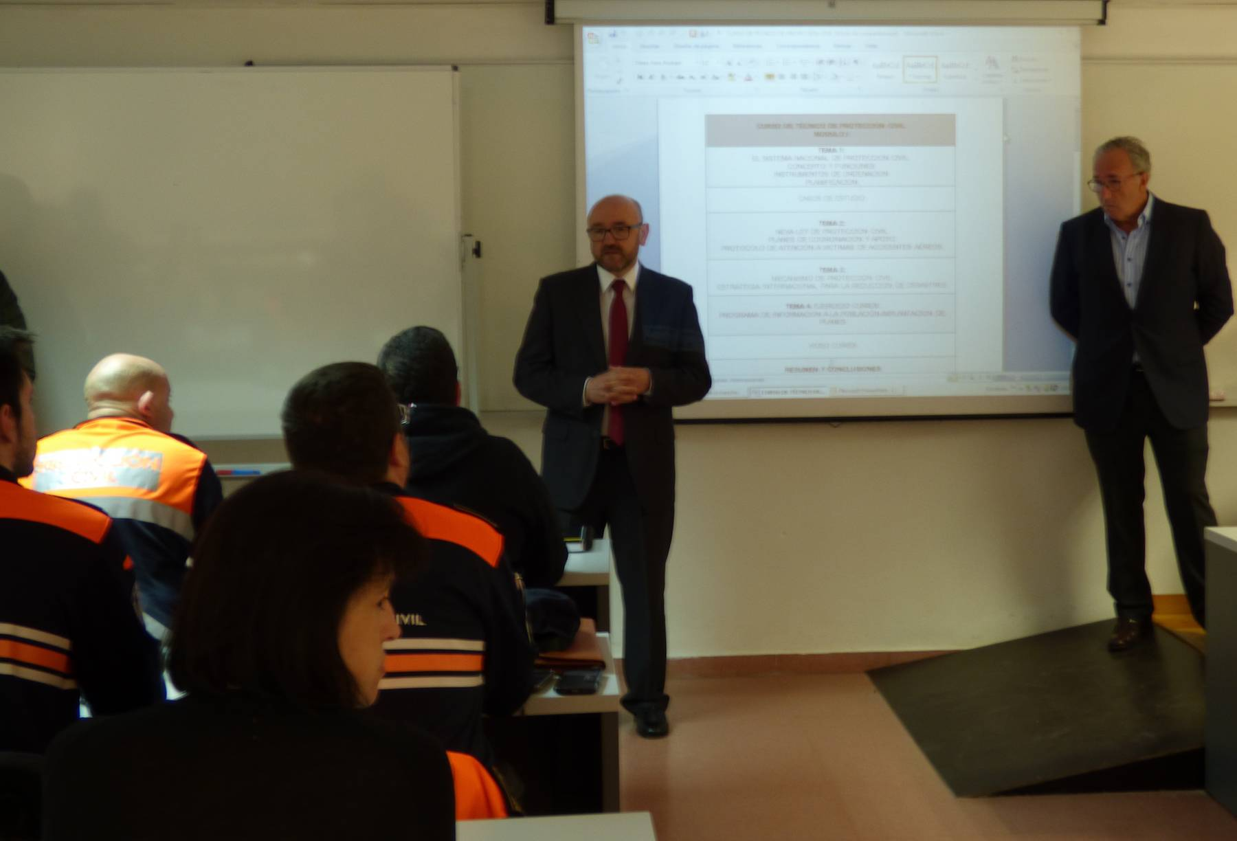 escuelas de proteccion ciudadana - cursos de abril 2016