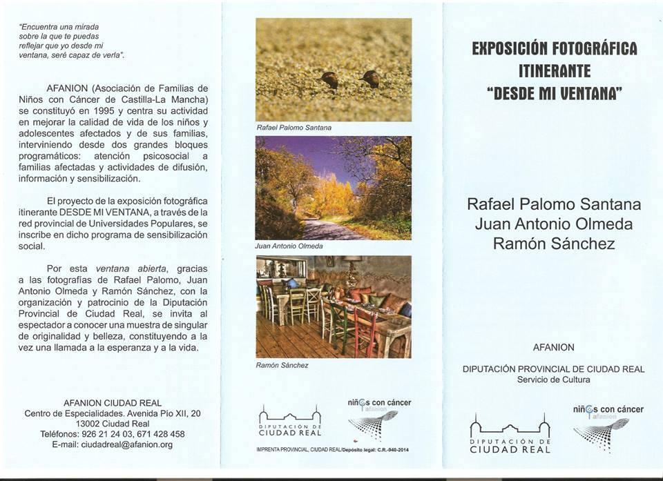 """exposicion desde mi ventana1 - La exposición fotográfica """"Desde mi ventana"""" llega a Herencia"""