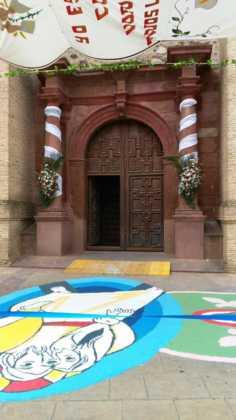 foto alfombras corpus Fotografia cofradia Santo Entierro 10 236x420 - Galería de imágenes del Corpus Christi en Herencia