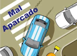 Mal Parking en Herencia (Ciudad REal)