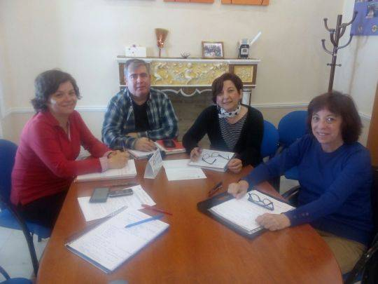 mesa local de Herencia para la lucha contra la exclusion social