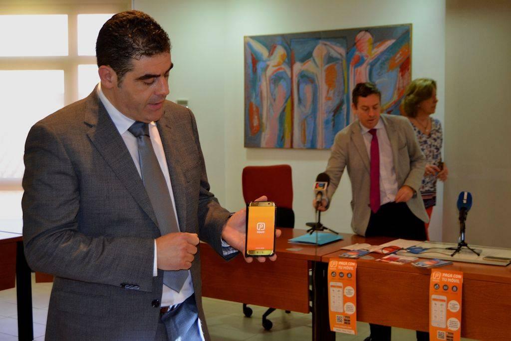 presenteacion aplicacion telepark - Alcázar de San Juan actualiza con parquímetros inteligentes y conectados al móvil