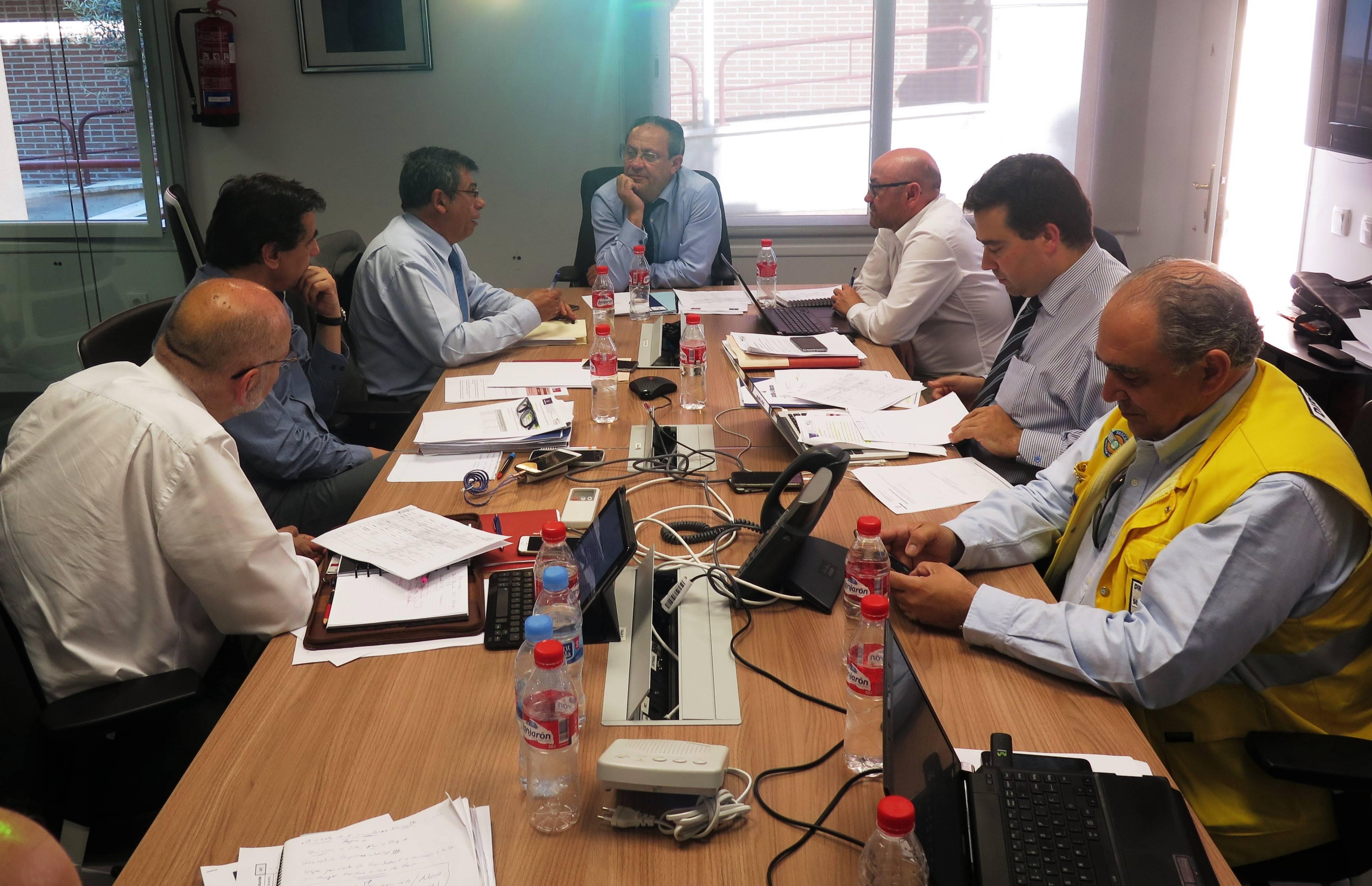 reunion sobre calidad del aire - La calidad del aire en Seseña no presenta anomalías significativas