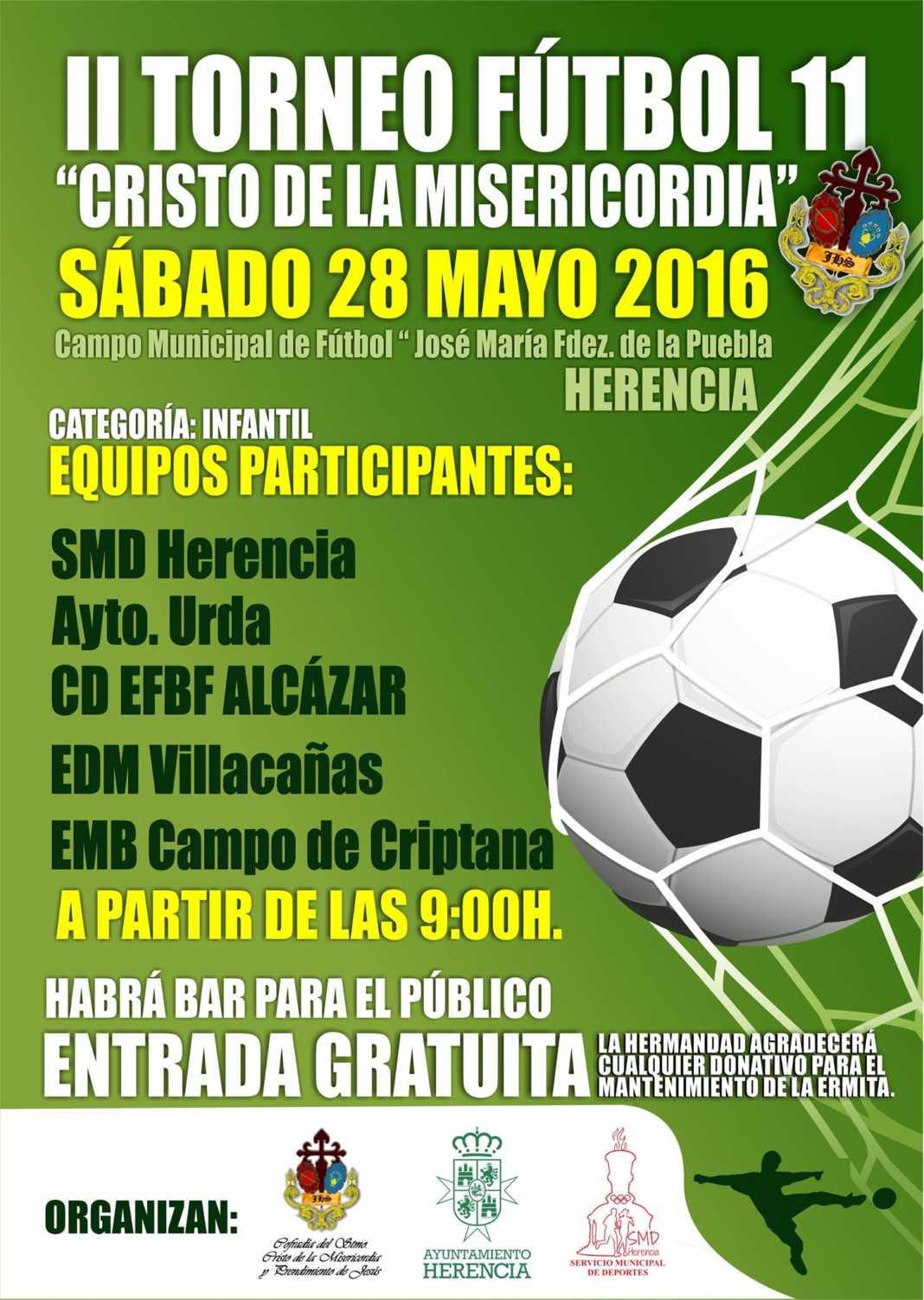 """torneo futbol 11 cristo de la misericodia herencia 1068x1502 - II Torneo de Fútbol 11 """"Cristo de la Misericordia"""""""