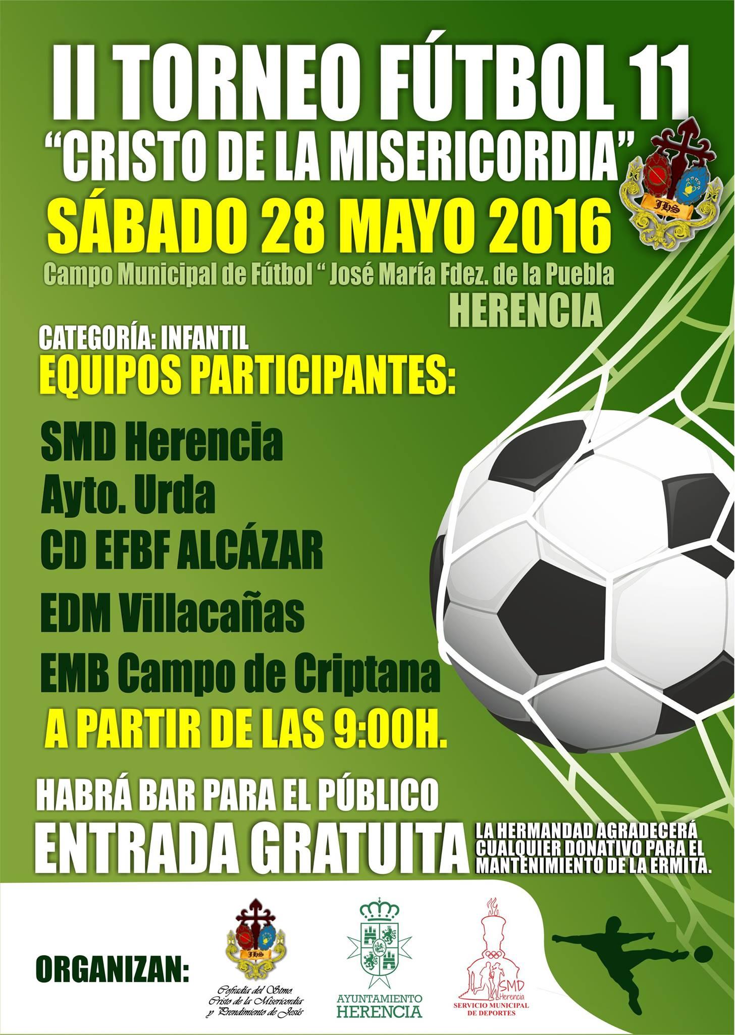 """torneo futbol 11 cristo de la misericodia herencia - II Torneo de Fútbol 11 """"Cristo de la Misericordia"""""""
