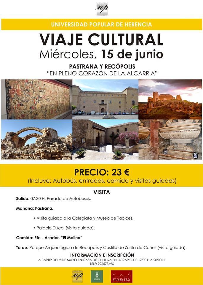 viaje cultural a pastrana y recopolis - Cultura organiza un viaje a Pastrana y Recópolis