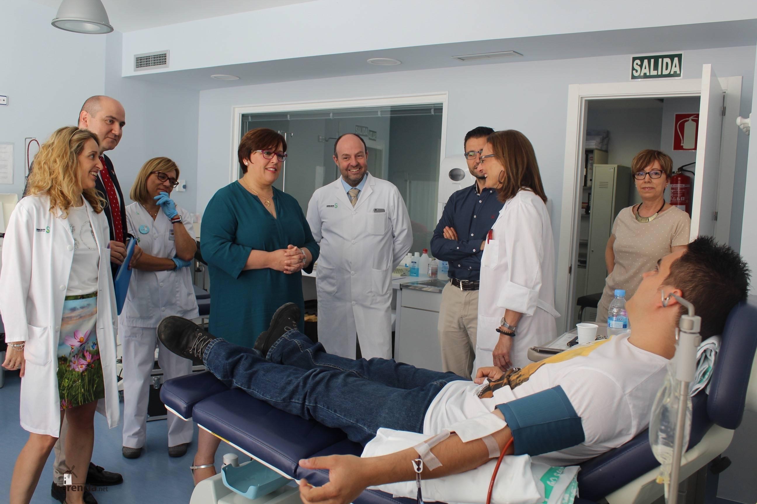 Carmen Olmedo Dia Mundial Donante Sangre 1 - Día Mundial de los Donantes de Sangre en Ciudad Real