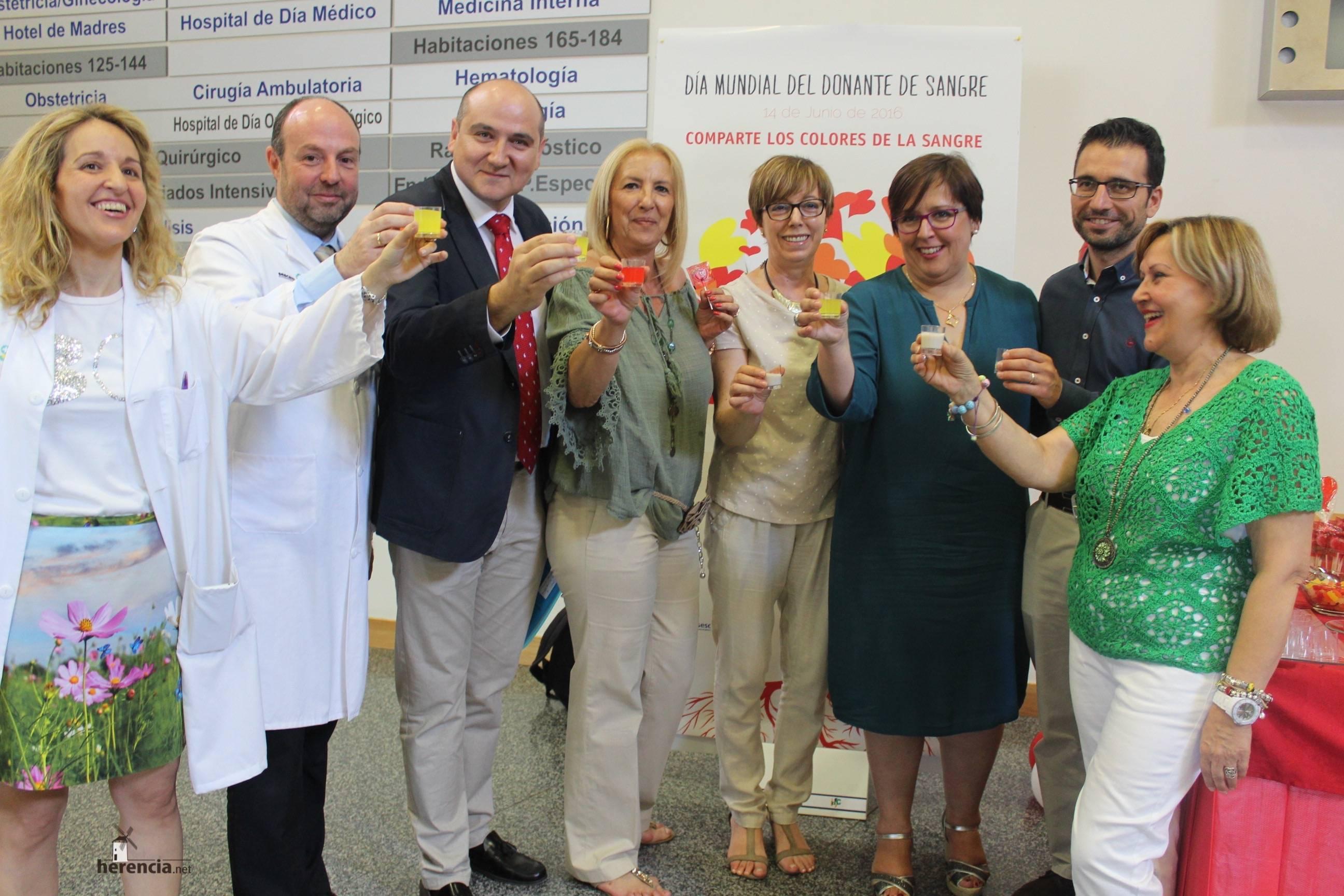 Carmen Olmedo Dia Mundial Donante Sangre 2 - Día Mundial de los Donantes de Sangre en Ciudad Real