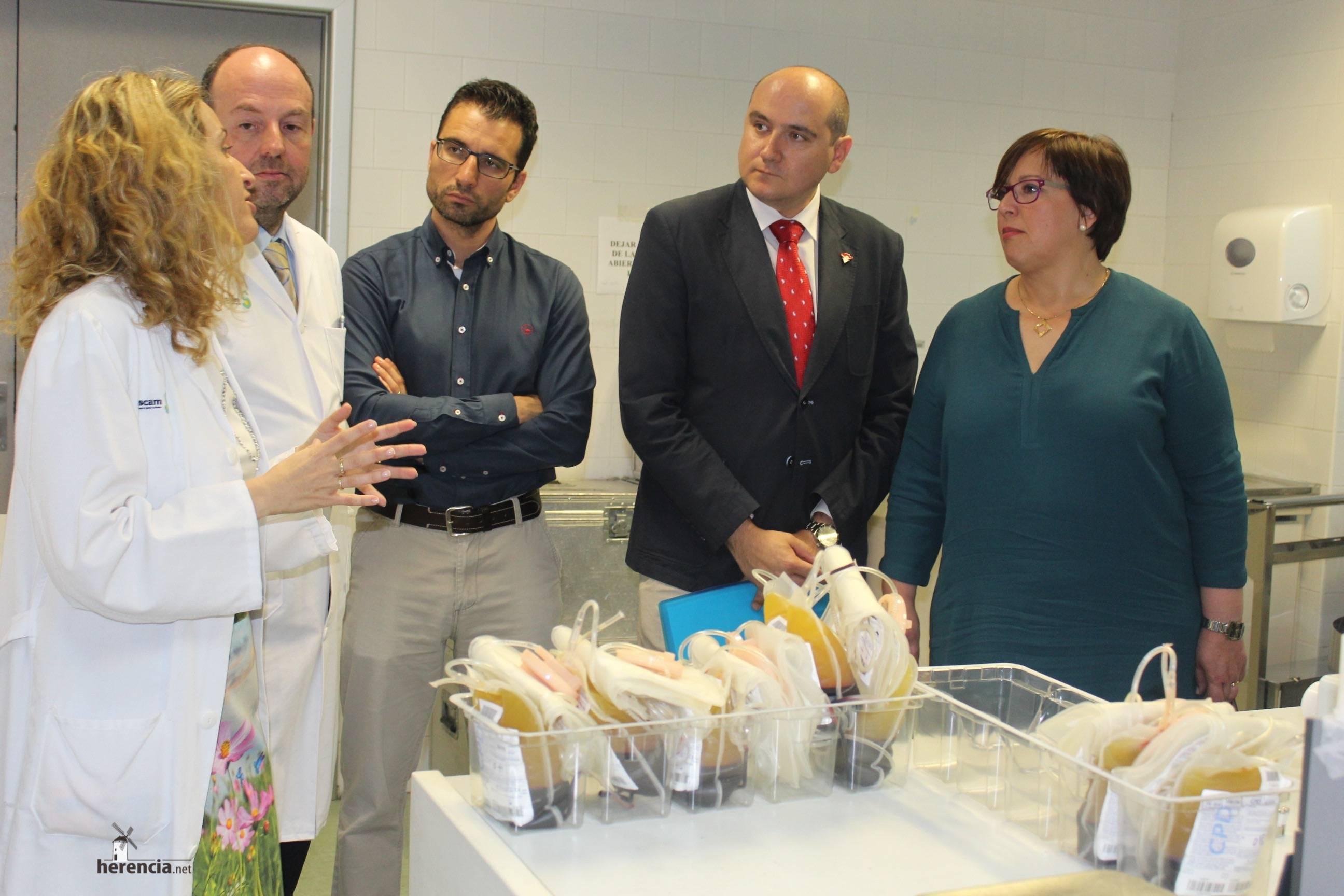 Carmen Olmedo Dia Mundial Donante Sangre 3 - Día Mundial de los Donantes de Sangre en Ciudad Real
