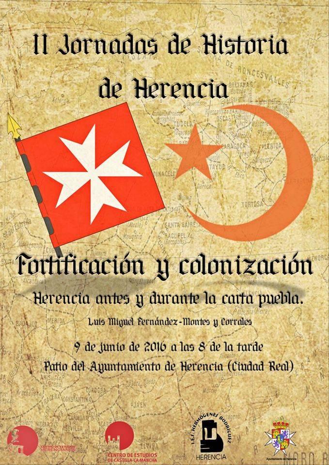 Fortificación y Colonización. Herencia antes y durante la Carta Puebla - El jueves continúan las II Jornadas de Historia de Herencia
