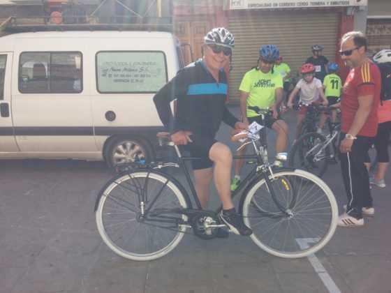 IX Marcha en bicicleta contra el cáncer