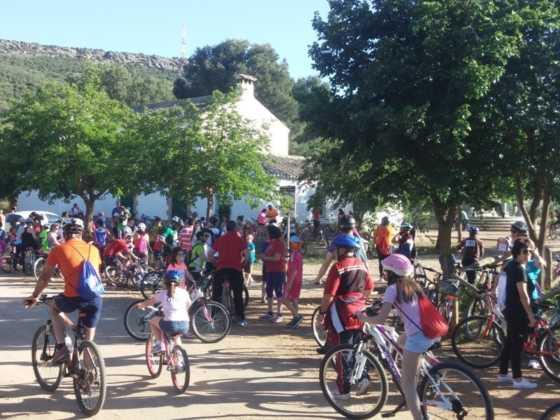 IX Marcha en bicicleta contra el c%C3%A1ncer068 560x420 - Galería de fotos y vídeo de la IX Marcha en bicicleta