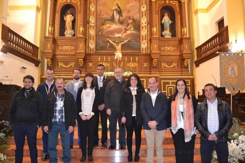 Primera Junta de Gobierno de la Hermandad de la Inmaculada de Herencia_
