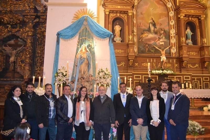 Primera Junta de Gobierno de la Hermandad de la Inmaculada de Herencia