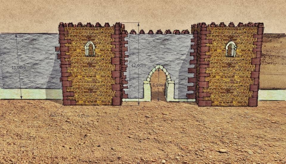 Reconstrucci%C3%B3n del estudio de Recrea TresD 1 - El jueves continúan las II Jornadas de Historia de Herencia