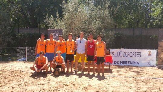 balonmano playa en herencia - Fiesta de fin de curso de las Escuelas Deportivas Municipales