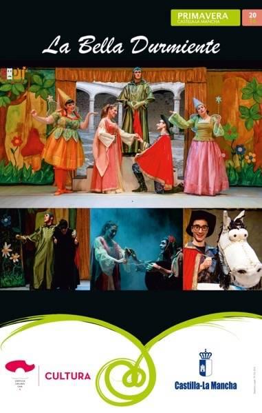 La Bella Durmiente por la compañía PTCLAM teatro