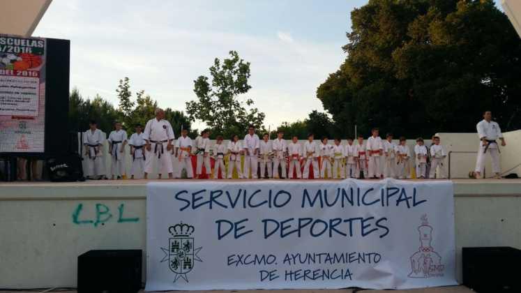 clausura de escuelas deportivas 4 747x420 - Fiesta de fin de curso de las Escuelas Deportivas Municipales