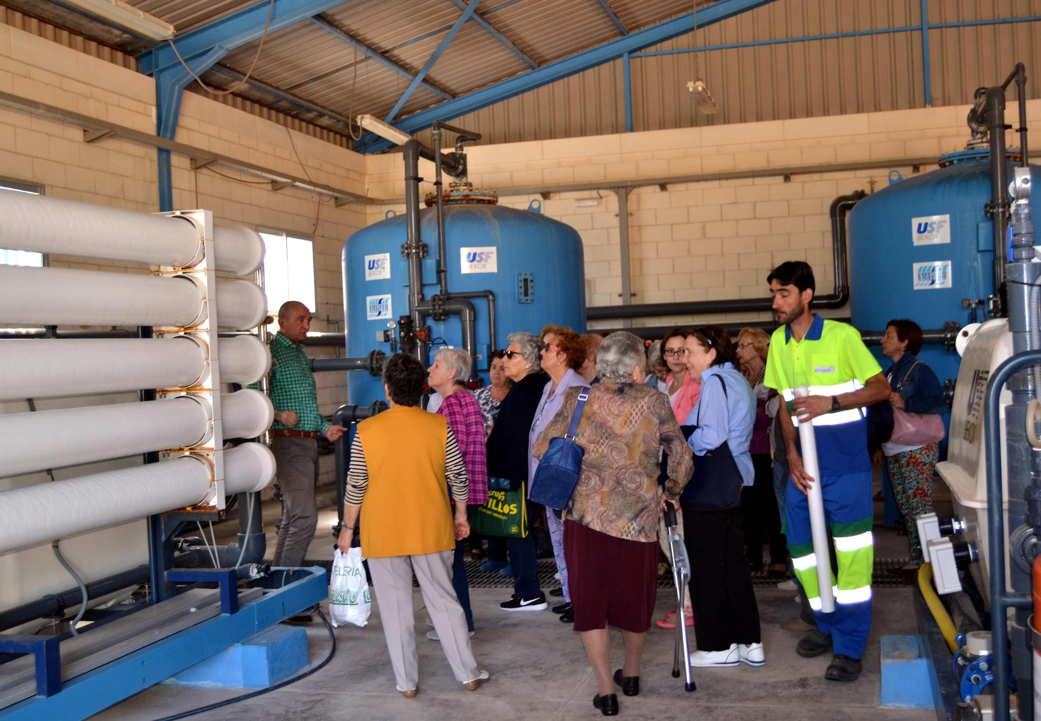 emaser visita etap - Visita a instalaciones de tratamiento y depuración de ciclo integral de agua