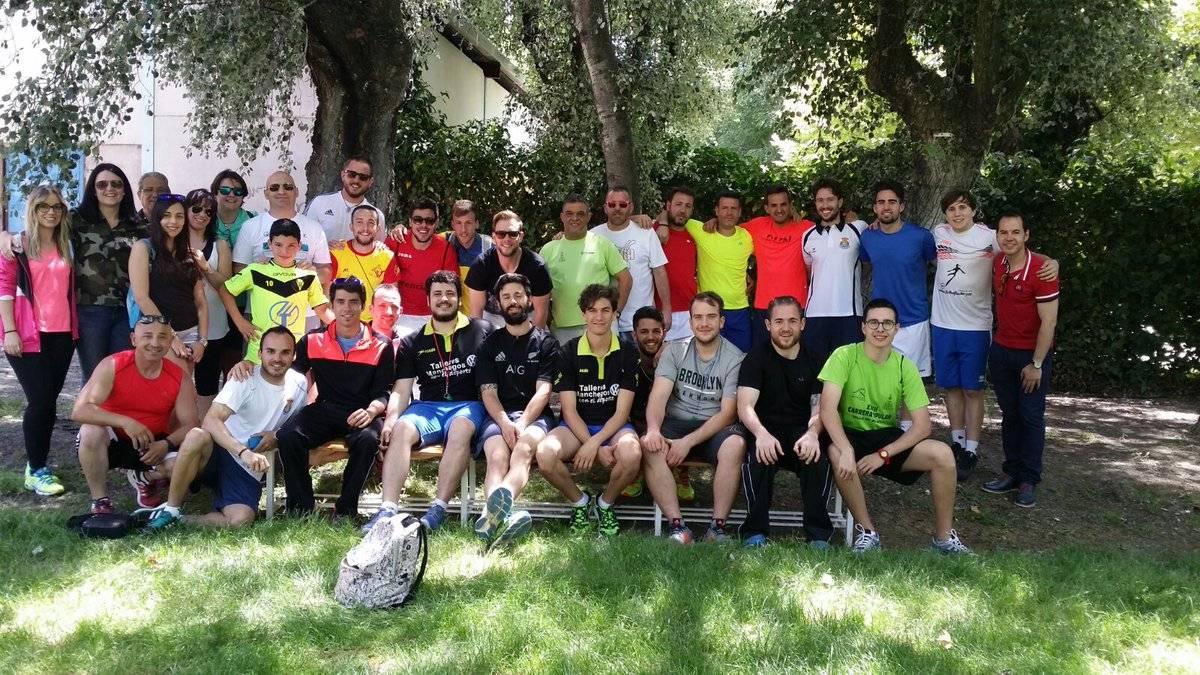 Monitores de las Jornadas de Rotación Deportiva en Herencia