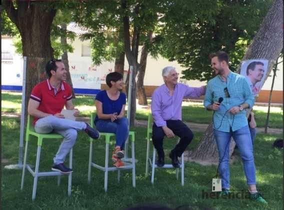 jose manuel jimenez concejal de herencia en encuentro psoe 568x420 - PSOE organizó un encuentro intergeneracional en Herencia
