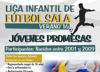 Liga infantil de Fútbol sala verano 2016