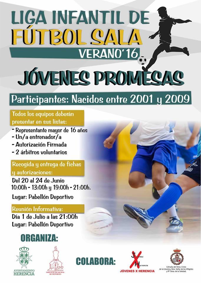 liga infantil de futbol sala verano 2016 - Liga Infantil de Fútbol Sala para verano 2016