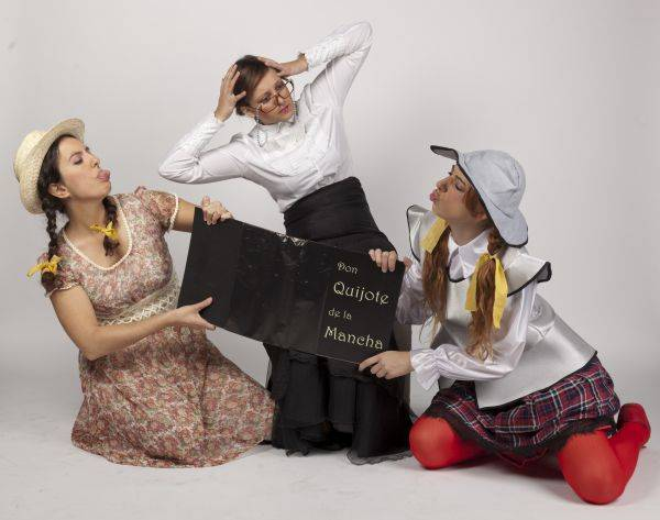 musical quiero ser el quijote - El musical infantil 'Quiero ser el Quijote' llega este domingo al Gran Teatro de Manzanares