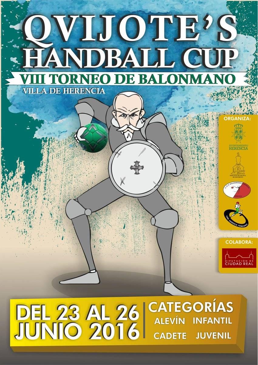 quijotes handball viii torneo balonmano herencia - VIII Torneo de Balonmano Qvijote's Handball Cup