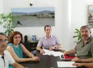 Renovación de los convenios municipales del Ayuntamiento de Herencia con Cáritas y Cruz Roja